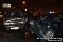 Բյուրական-Ագարակ ավտոճանապարհին բախվել են ավտոմեքենաներ