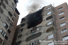 Fire in an apartment: there were no casualties
