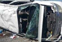 ДТП в Ставропольском крае: пострадали граждане Армении