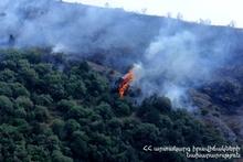 Пожарные-спасатели потушили пожар, вспыхнувший на травяном участке