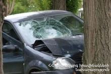 ДТП на автодороге Севан-Ереван: есть пострадавшие