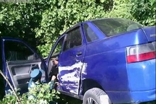 ДТП на автодороге Иджеван-Ереван: автомобиль упал в яму