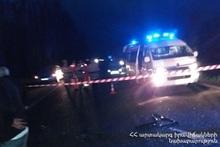 ДТП на автодороге Ереван-Севан: водитель скончался на месте