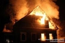 Пожар в селе Карби: пострадавших нет