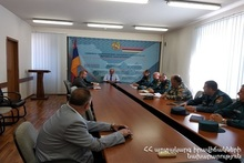 Civil Defense Event in the Ministry of Territorial Administration and Development of RA