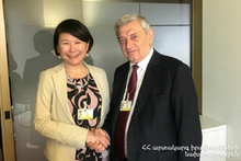 Состоялась встреча Феликса Цолакяна с гендиректором Кризисного Бюро ПРООН Асако Окай