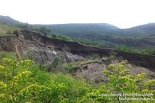 Landslide has occurred in the area adjacent to Halidzor village