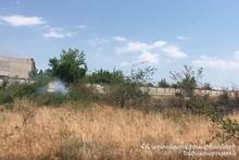 Контролируемое сжигание на территории около 30 гектаров