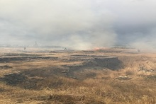 Հսկվող այրում մոտ 23,5 հեկտար տարածքում