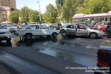 RTA in Charents street: there were no casualties