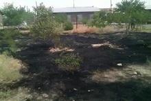 Հսկվող այրում մոտ 7,6 հեկտար տարածքում