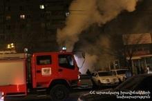 Fire in Aygek village: citizens got symptoms of smoke inhalation