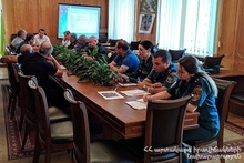 Event in Tavush on necessary actions to be taken in case of landslides