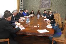 ՏԿԱԻ նախարարն ընդունել է Հայաստանի մանուկների հիմնադրամի պատվիրակությանը