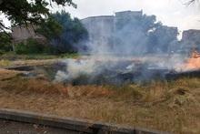 Հսկվող այրում մոտ 3 հա տարածքում