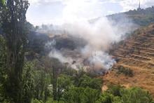 Հրազդանի կիրճում այրվել է 3000 քմ խոտածածկույթ