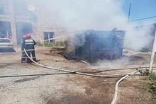 Пожар в городе Армавир: пострадавших нет