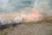 Հսկվող այրում մոտ 13000 քմ տարածքում