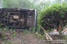 Автомобиль упал в ущелье: есть пострадавшие