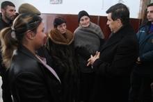 ՏԿԱԻ նախարար Արմեն Երիցյանն այցելեց Արագածոտնի մարզի Ծաղկահովիտ համայնք