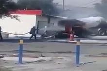 Հրդեհ գազալցակայանի հետնամասում. կանխվել է հեղուկ գազի ավտոցիստեռնի պայթյունը (լրացված)