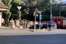 ՃՏՊ Տիգրան Մեծի պողոտայի և Նար-Դոսի փողոցի խաչմերուկում