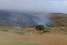 Նուբարաշենի հրաձգարանում այրվել է մոտ 35 հա խոտածածկույթ