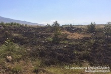 Пожарные-спасатели потушили пожары на травяных участках около 22.41 га