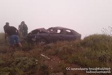 ДТП на автодороге Каджаран-Мегри: есть пострадавшие