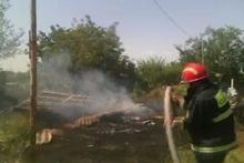 Пожар в селе Маисян: пострадавших нет