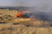 Пожарные-спасатели потушили пожары на травяных участках около 66.55 га