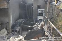 Сгорел неэксплуатируемый деревянный дом
