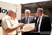 Humanitarian support was sent to the Syrian Arab Republic