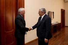 ԱԻ նախարար Ֆելիքս Ցոլակյանն ընդունել է Հայաստանում ՄԱԿ-ի մշտական համակարգող Շոմբի Շարփի գլխավորած պատվիրակությանը