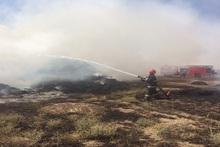 Բագրավան գյուղում այրվել է մոտ 900 հակ անասնակեր