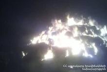 Пожар в селе Шамирам
