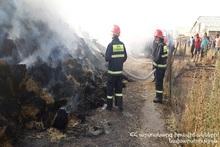 Пожар в селе Баграван