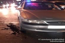 Running down accident on Komitas avenue