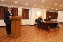 Գիտաժողով  «Արտակարգ իրավիճակներում բնակչության պաշտպանության և քաղաքացիական պաշտպանության արդի հիմնախնդիրները» թեմայով