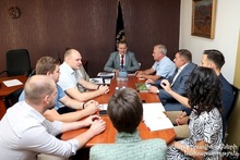 Аркадий Балян принял делегацию Нижегородской области РФ