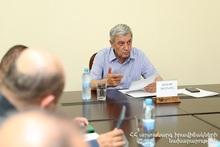 Феликс Цолакян созвал заседание оперативной рабочей группы