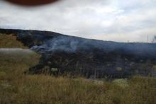 Մովսես գյուղում այրվել է մոտ 10 հա խոտածածկույթ