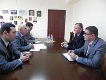 Ուկրաինայի դեսպանն այցելեց ՀՀ ՏԿԱԻՆ Միգրացիոն պետական ծառայություն