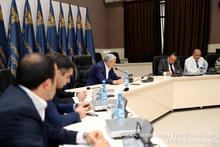 Feliks Tsolakyan held disciplinary meeting