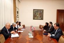 ԱԻ նախարար Ֆելիքս Ցոլակյանն ընդունեց  ՀՀ-ում ԻԻՀ դեսպան Սեյեդ Քազեմ Սաջադիին