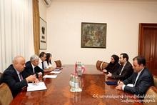 Министр по чрезвычайным ситуациям Феликс Цолакян принял посла Исламской Республики Иран в РА Сейеда Казема Саджади
