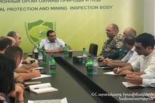 Мероприятия гражданской обороны в Инспекционном органе по охране природы и недрам и в СГН