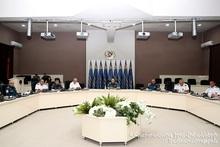 Рабочее совещание в министерстве
