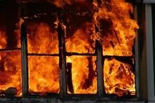 Fire in Dzoraghbyur village