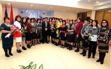 ՏԿԱԻ նախարար Արմեն Երիցյանը պարգևատրեց ՏԻՄ ոլորտում աշխատող կանանց